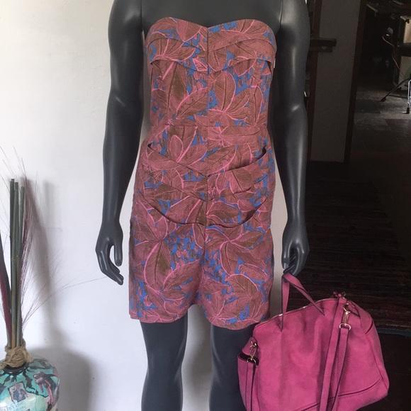 RACHEL Rachel Roy Dresses & Skirts - Rachel Roy Palm Print Mini